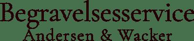 Begravelsesservice Andersen og Wacker